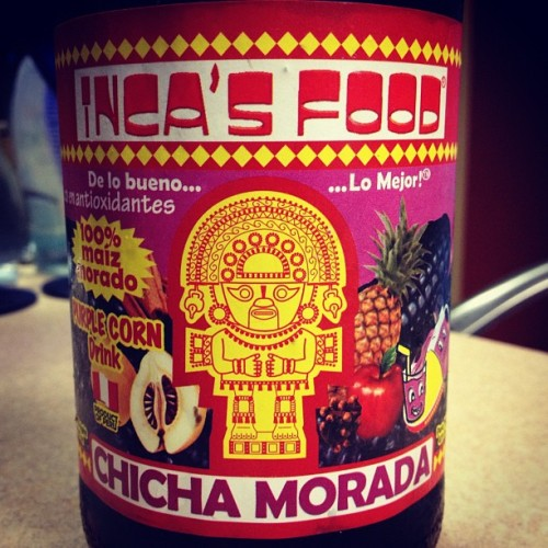Chicha Morada ~ Inca's Food ~ #Perú #HomeFood #maíz  (Taken with instagram)