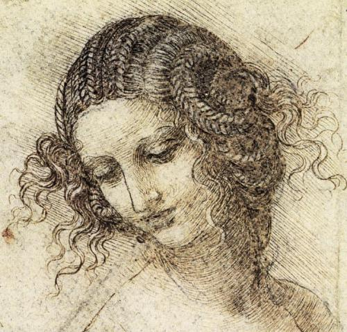 Study for Leda from Sketches of Leonardo DaVinci
