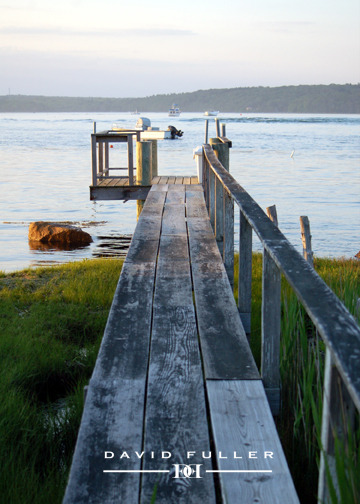 Boathouse Dock.  Westport Harbor David Fuller Photography 2012