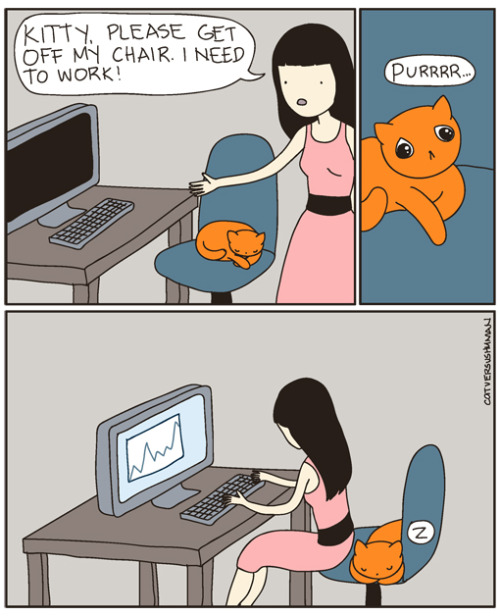 Yep. This happens.  from Cat vs Human
