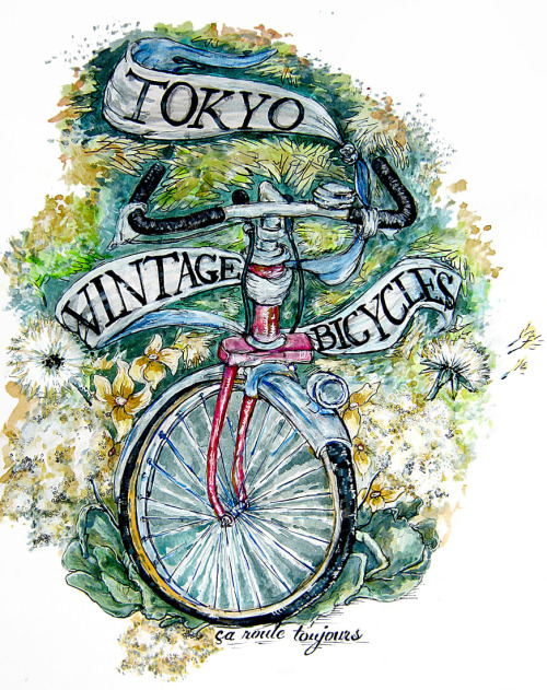 I did this for Tokyo Vintage Bicycles. You can see their website here: http://tokyo-vintage-bicycles.com/