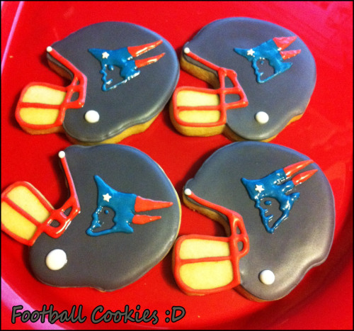 Superbowl Helm Cookies.