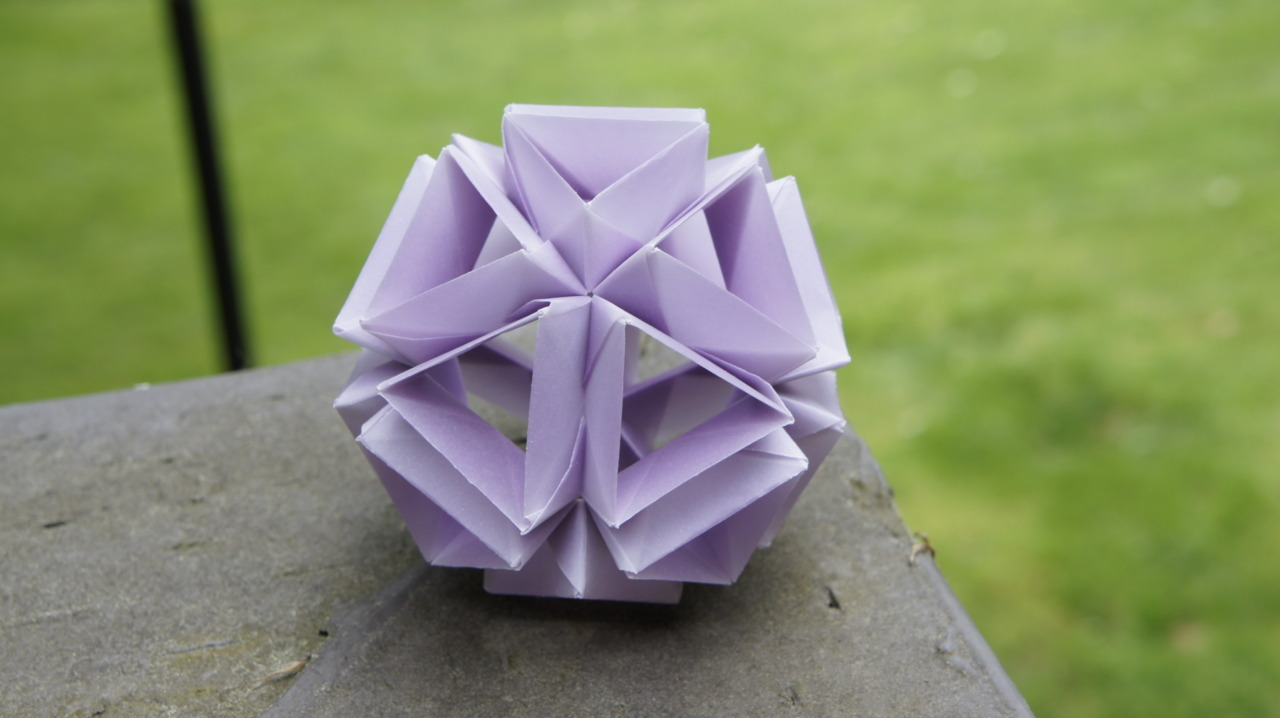 Hollow Purple Kusudama
