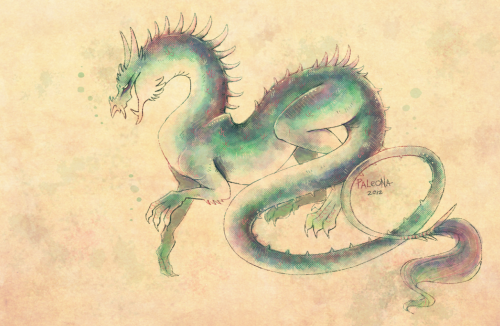 jeriorlizorart:  (via water dragon by *Paleona on deviantART)