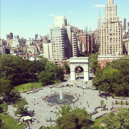 Washington Square (使用instagram拍摄)