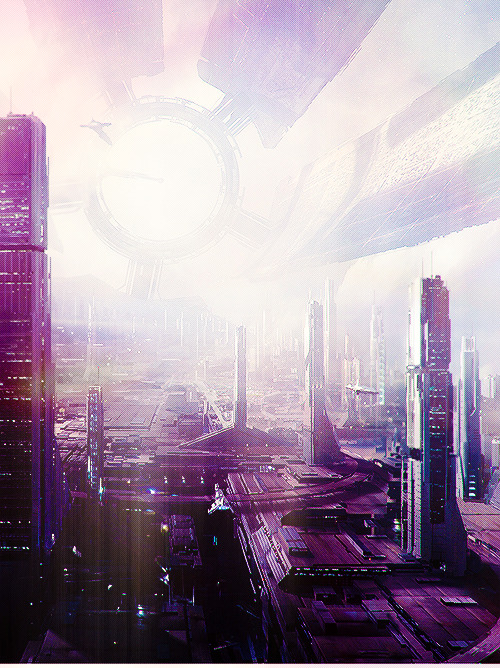 grim-dark:  The Citadel — Art of the Mass Effect Universe.