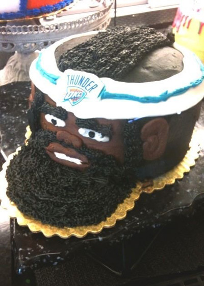 have your cake and fear it too victory is sweet James Harden takes the cake eat your heart out, Spurs