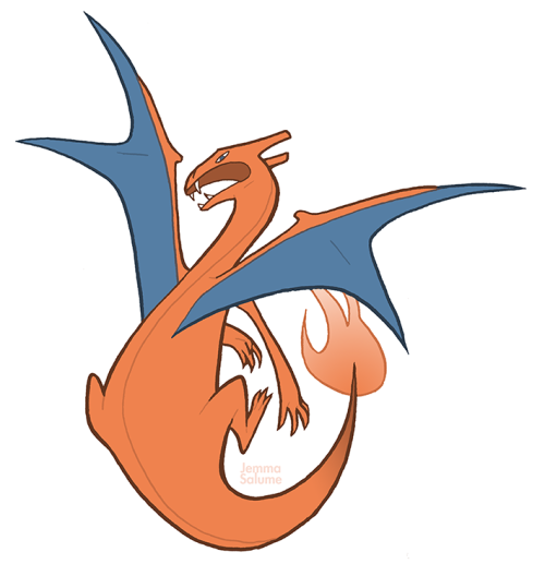 IT'S A GODDAMN CHARIZARD