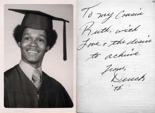 Dereck, Class of 1972 [Valerie Mason's Album] [Black Graduates Series] ©WaheedPhotoArchive, 2012