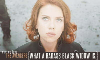 What a badass Black Widow is.