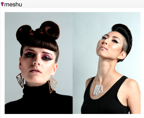Meshu. turn a map of the places you've been into jewelry - earrings, cufflinks, necklace pendants.