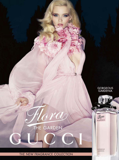 fashion-ocd:  Abbey Lee Kershaw is Angelic in Gucci's Flora Fragrance Campaign by Sølve Sundsbø
