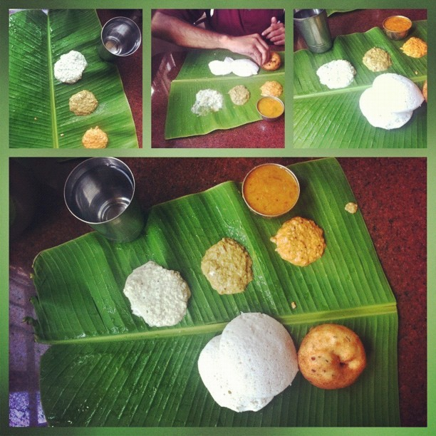 Start the road trip right. #idli #vada #chutney #south #food #india  (Taken with Instagram at Krishnagiri)