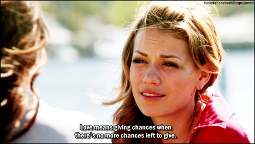 fuckyeahonetreehillcaps:  One Tree Hill 9x12 Anyone Who Had a Heart