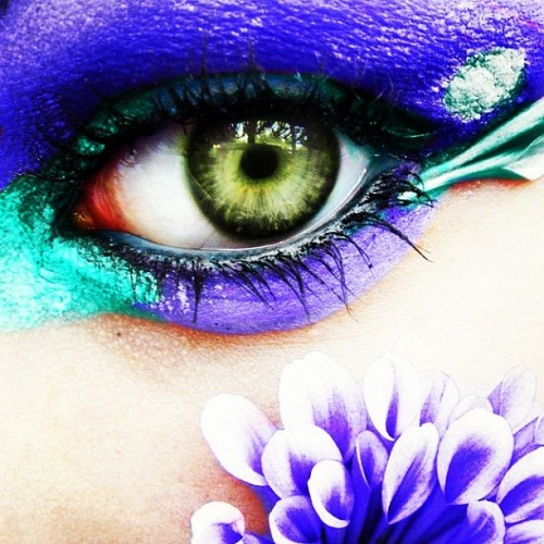 fluffybadger:  #edc #eye #eyes#colorful #beautiful #electricdaisycarnival  (Taken with instagram)