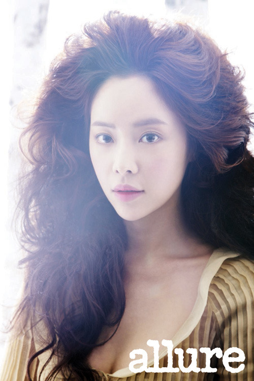 hwang jungeum, allure korea june 2012