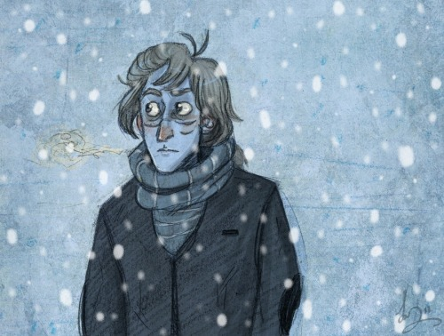 Remus in Winter by ~Alatariel-Amandil