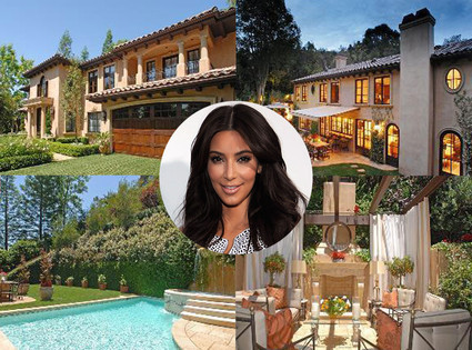 WOW! Both Kim Kardashian and Kanye West seem to have put their homes on the market! Maybe this means they're looking for bigger space so they can live together?