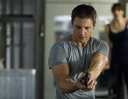 Never been a fan of the Bourne movies…. but Jeremy Renner is in The Bourne Legacy? Hell yes! I'm going to see that.