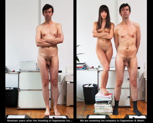 Sagmeister adds Walsh to his studio via Creative Review