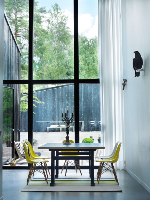 homedesigning:  Windows Dining Room Architecture