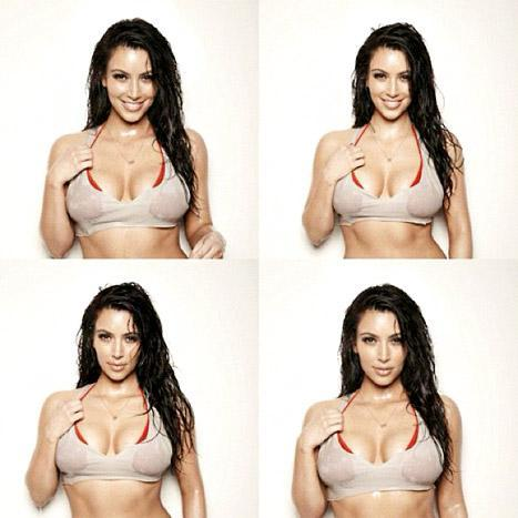 Kim Kardashian: Wet & Wild Photos!