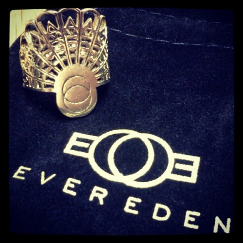 """arc of sanctuary"" ring from michelle phan's EVER EDEN jewelry."