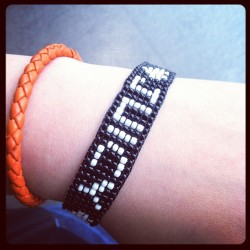 #BottegaVeneta#orange#BV#juicy#black#bracelet#instagood#instagramhub#igers#idaily#cool#iphonesia#iphoneonly#cool#bestoftheday  (Taken with instagram)