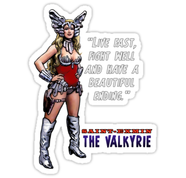 Valkyrie - Battle Beyond The Stars Sticker http://www.redbubble.com/people/danavenelll/works/8914167-battle-beyond-the-stars-valkyrie?p=sticker