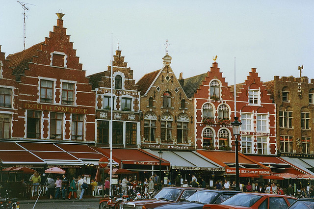| ♕ |  Markt of Bruges, Belgium  | by © Patrick