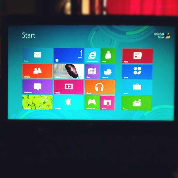 Windows 8, test 2 (Taken with instagram)