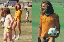 Robert Plant playing soccer in a Speedo!!!