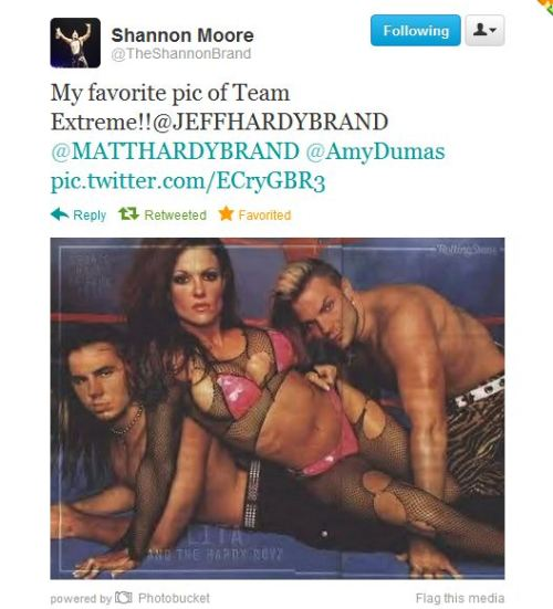 kremitoo:  LMAO!!! Boy, does Reby annoy him or what? :D And the best part is he didn't just post the picture, he mentioned both Amy and Matt. If you listen closely, you'll probably hear Reby breaking her computer monitor. :D Now I'm praying for a response from Amy. ^^  Always knew Shannon was my favorite :D I am not looking at Matt's site now. If Shannon did this, it's obvious Reby has no Team Xtreme featured on it.