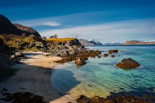 Prospect from Andlopen, Lofoten islands (par steinliland)
