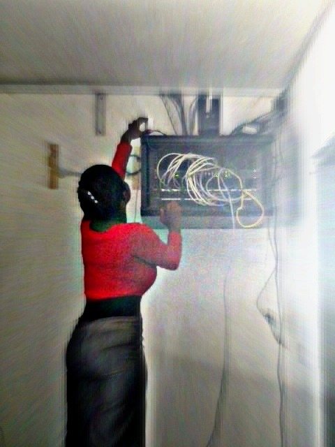 working in a man's world …… i still love my job thou