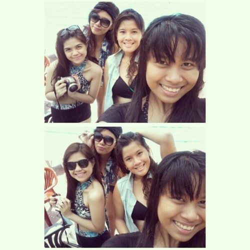 05.26.2012 Swimming with the girls! <3 Sulitin ang summer! ;) #2012 #summer2012 #summer #friends #photoblog #blog #memories #ggs<3 #karen;) #gela..;* #kamae #dessa #celebrity #love<3 #swimming #pool #swimsuit #fashion #shades #black #denim #bonding #swimmingpool #girls #;) (Taken with instagram)