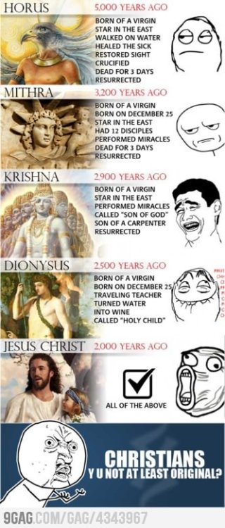 9gag:  Christian logic  EXACTLY what I've been saying!!!!!!!!!!!!!!!!!!! that's not the real savior Yashayah is his name get with it
