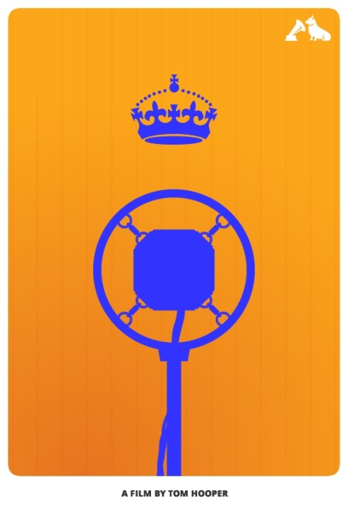 The King's Speech- hmv Minimalist Film Poster To celebrate the Top 10 films - voted for by you - in the hmv Jubilee Poll, our friends at MMK Media have created these minimalist posters featuring iconic images from each movie. We'll be posting two a day, each day this week. Here's one celebrating the #10 film in our list, The King's Speech.