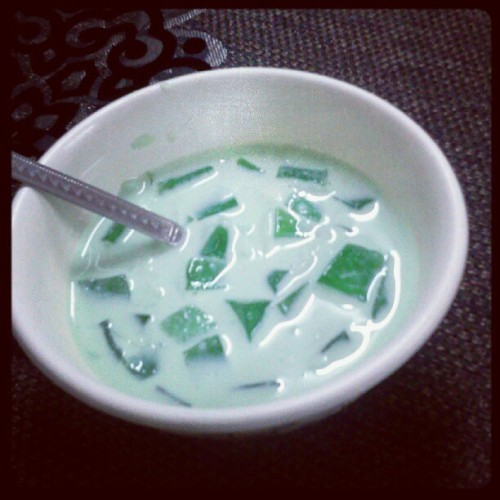 Buko pandan.. . (Taken with instagram)