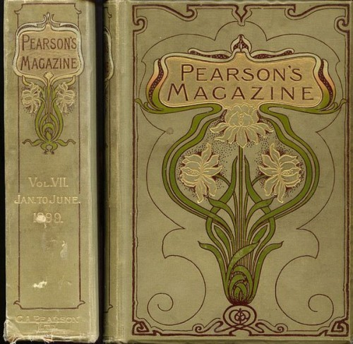 (Cover used for collected volume of Pearson's Magazine 1899)