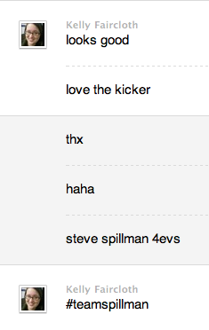 Steve Spillman is Betabeat's unofficial mascot. (Story with Spillman kicker.)