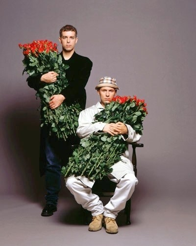 From the album cover for Behaviour buy the Pet Shop Boys. Via Haw-Lin