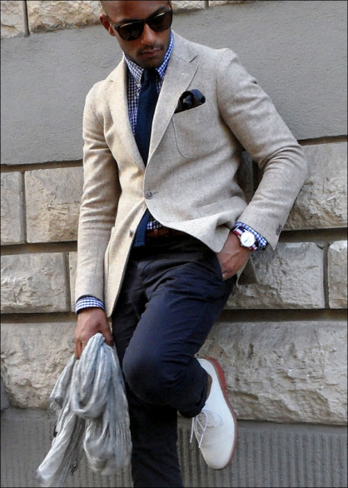 This French dude consistently kills it in the style department.