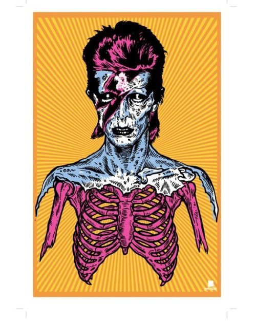 David Skeleton Bowie.