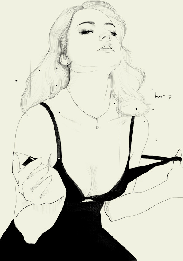 rawbdz:  fashion illustration, Floyd Grey
