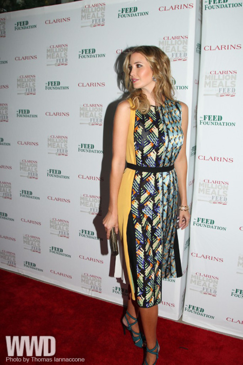 Ivanka Trump at the Clarins FEED event at Lincoln Center