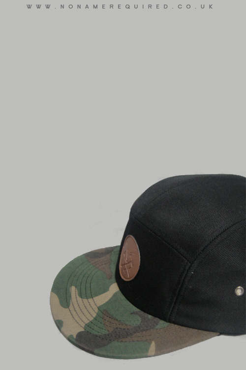 Camouflage 5 panel cap Available from Nonamerequired 22/06/12