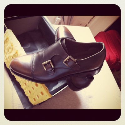fabatos:  My new Gordon Double Monks by 59BondSt