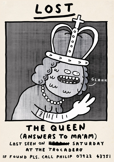 Happy Queen day to The Queen