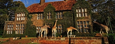 This is a real hotel and those are real giraffes. Someone pack their bags and come with me to Keyna's Giraffe Manor.